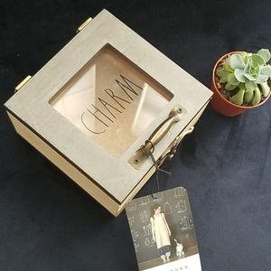"Wooden ""Charm"" Box"